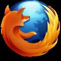 Logo Firefox Panda Roux