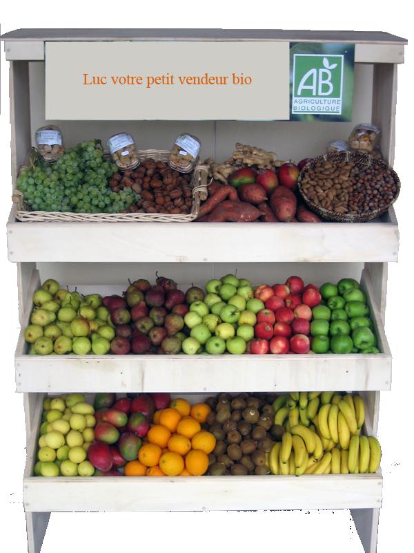 Photoshop utilisation du lasso magn tique pour d tourer - Presentoir fruits et legumes ...