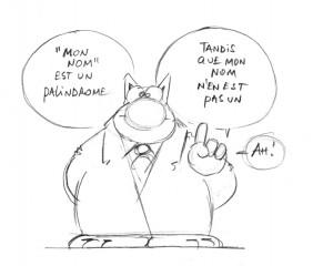 Le chat palindrome mathématique
