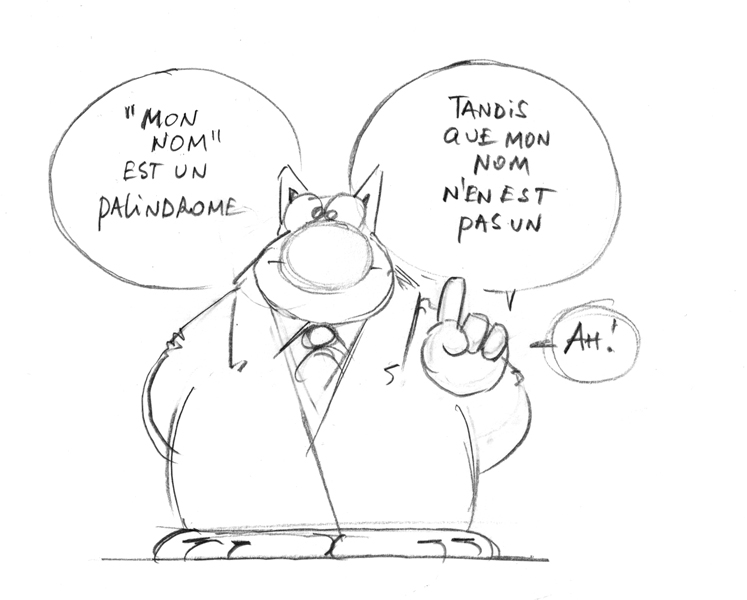 Le chat palindrome