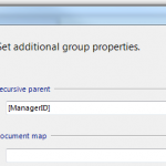 group properties recursive parent advanced