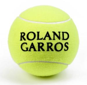 Balle de tennis Roland Garros - http://www.balle-tennis.fr