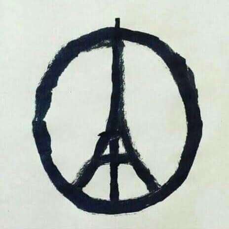 Symbole de la paix - Tour Eiffel